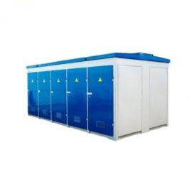 Городская комплектная трансформаторная подстанция с одним или с двумя трансформаторами ГКТП/2ГКТП